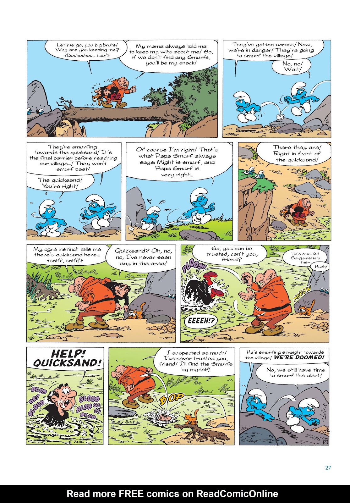 Read online The Smurfs comic -  Issue #17 - 27
