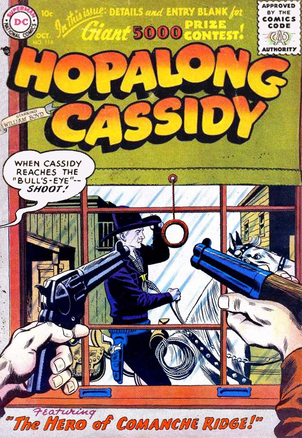 Hopalong Cassidy issue 118 - Page 1