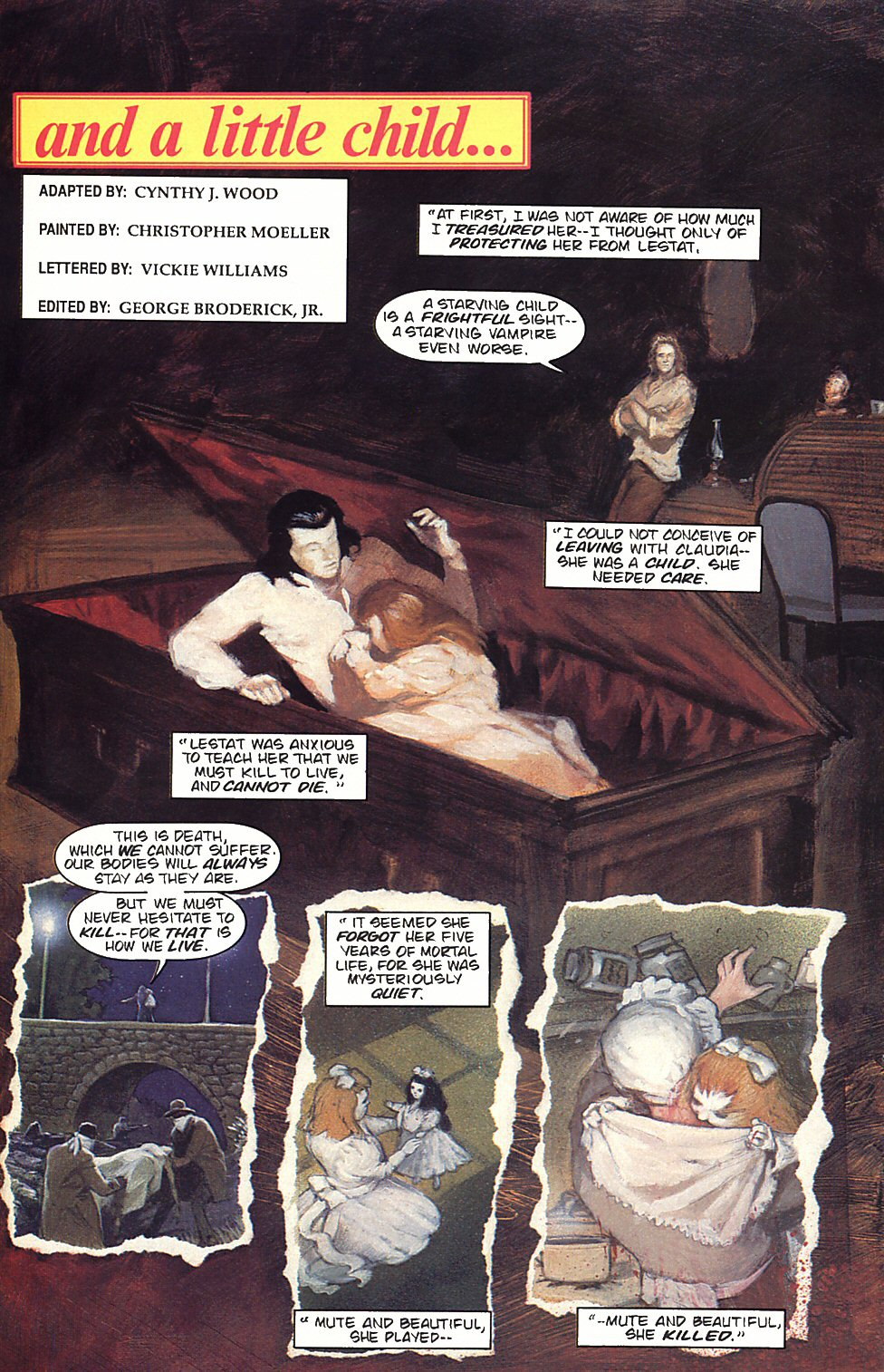 Read online Anne Rice's Interview with the Vampire comic -  Issue #4 - 7