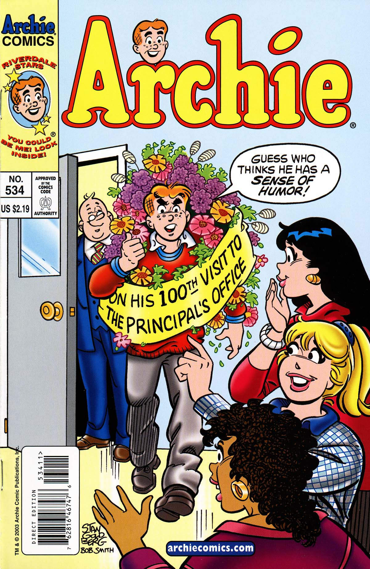 Read online Archie (1960) comic -  Issue #534 - 1