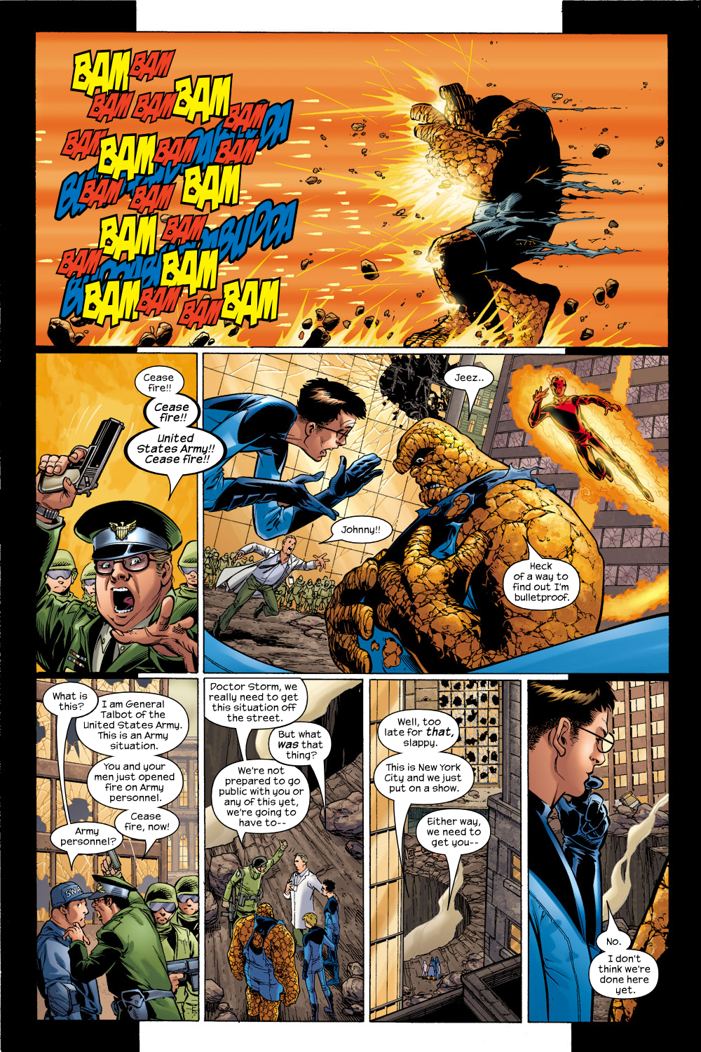 Read online Ultimate Fantastic Four (2004) comic -  Issue #5 - 12