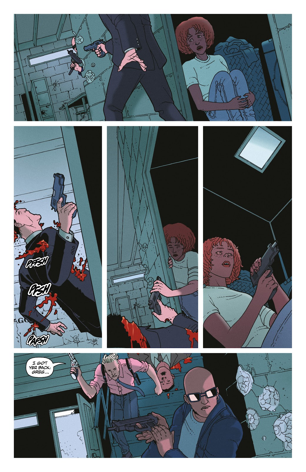 Read online She Could Fly comic -  Issue # _TPB - 127