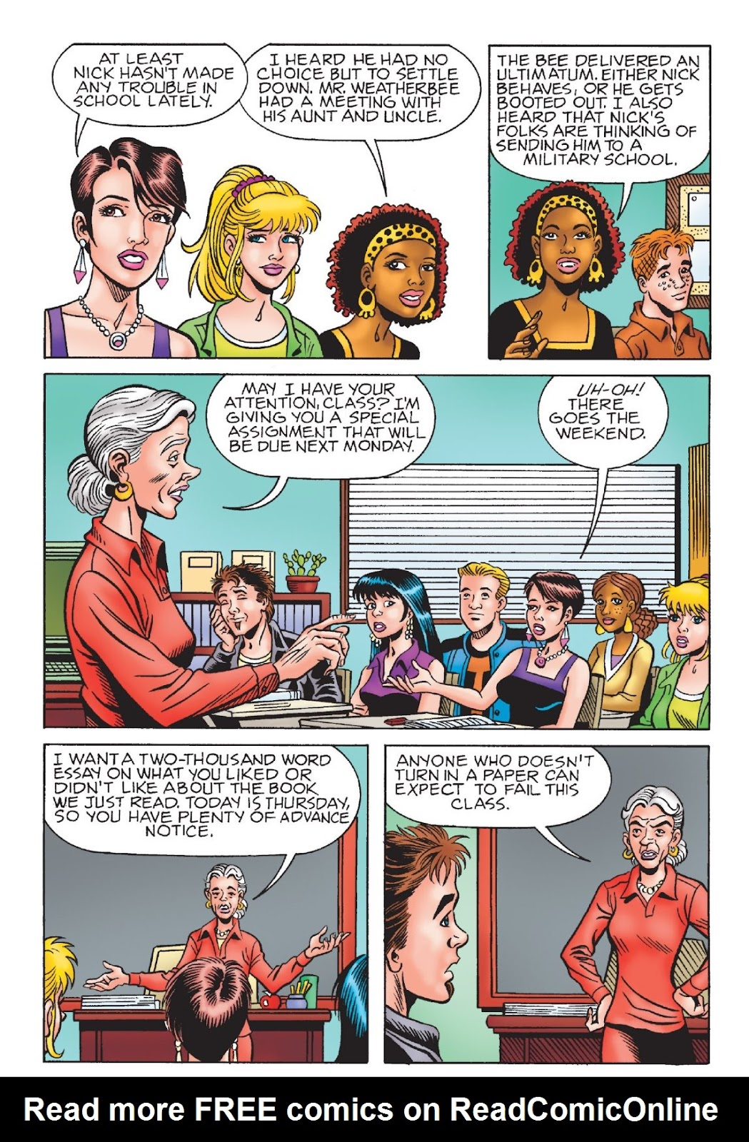 Read online Archie's New Look Series comic -  Issue #1 - 65