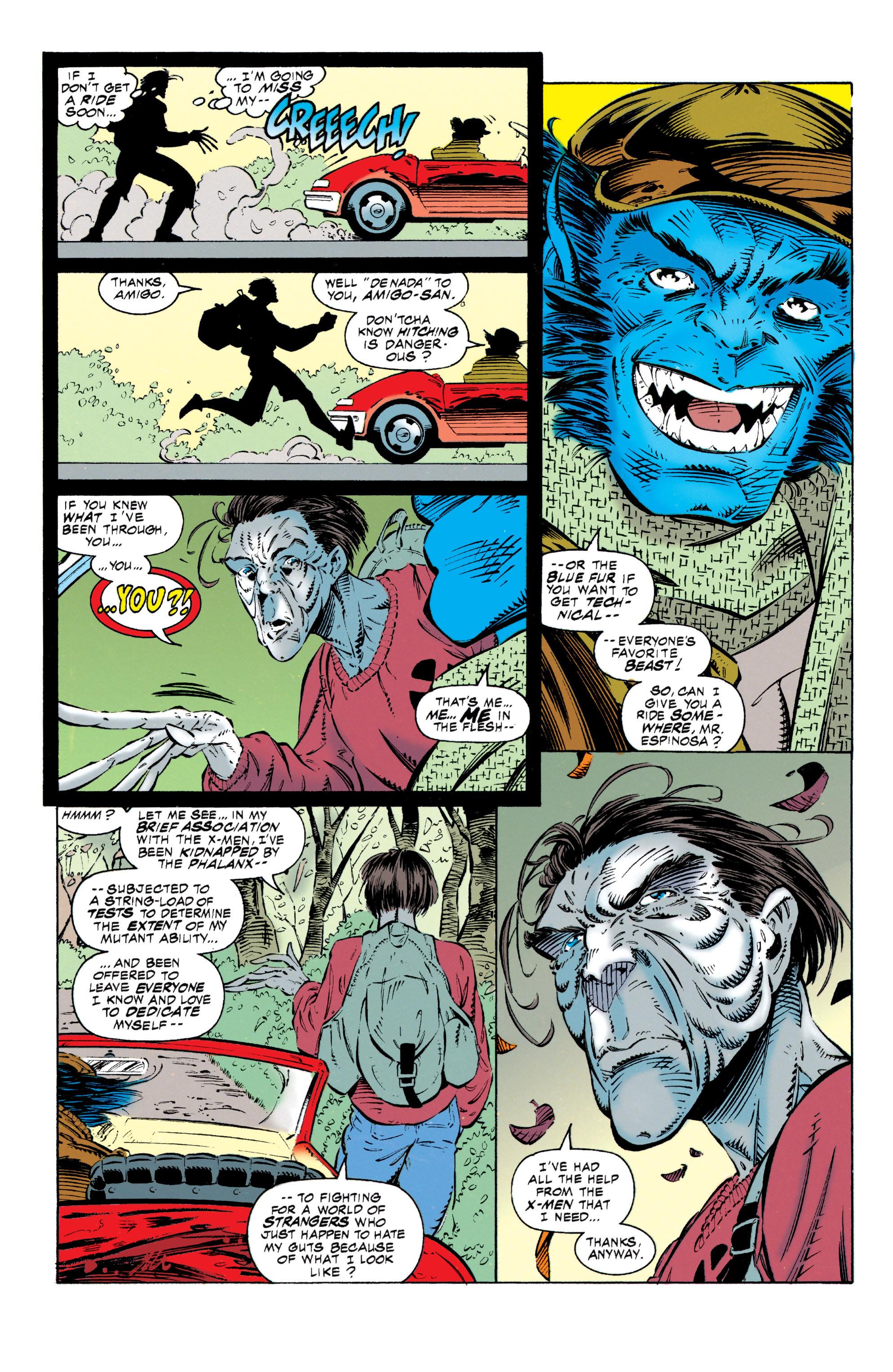 Read online Uncanny X-Men (1963) comic -  Issue #318 - 3