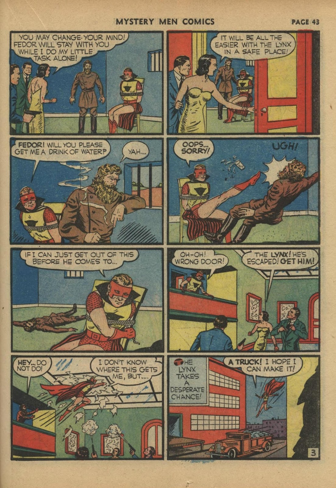 Mystery Men Comics issue 17 - Page 45