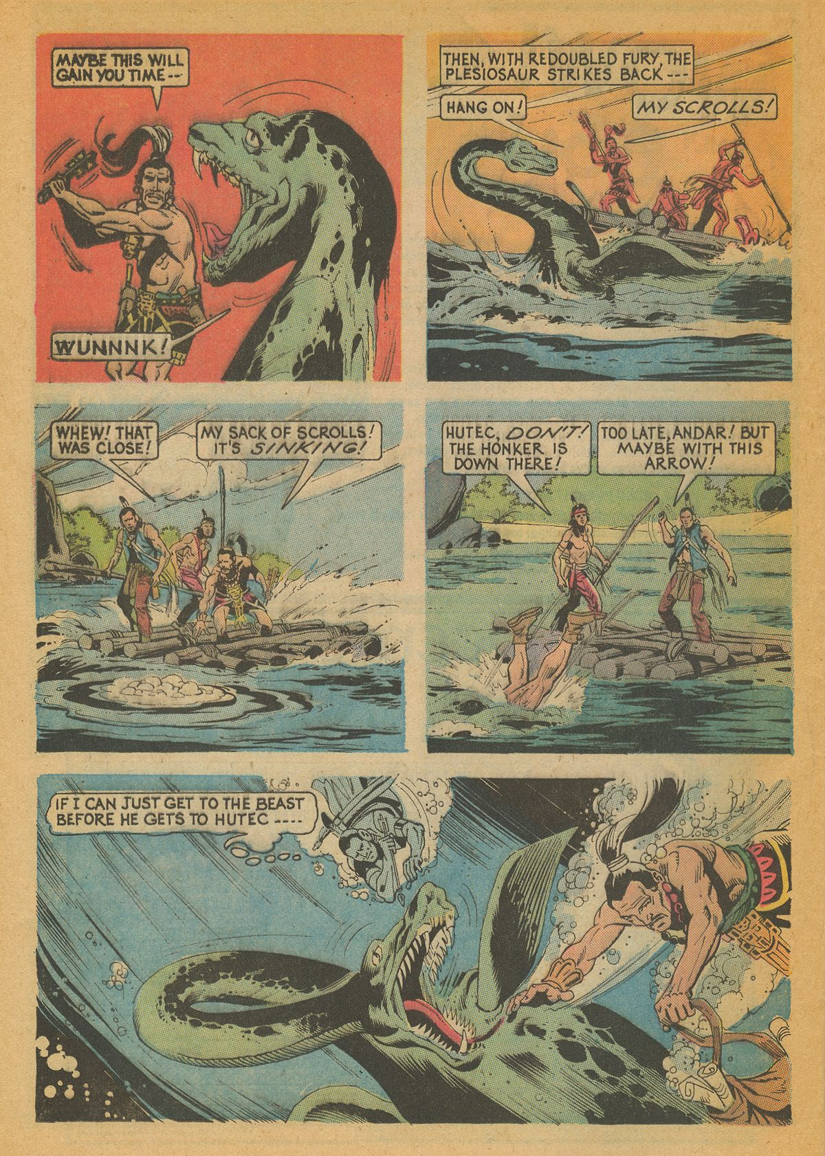 Read online Turok, Son of Stone comic -  Issue #85 - 24
