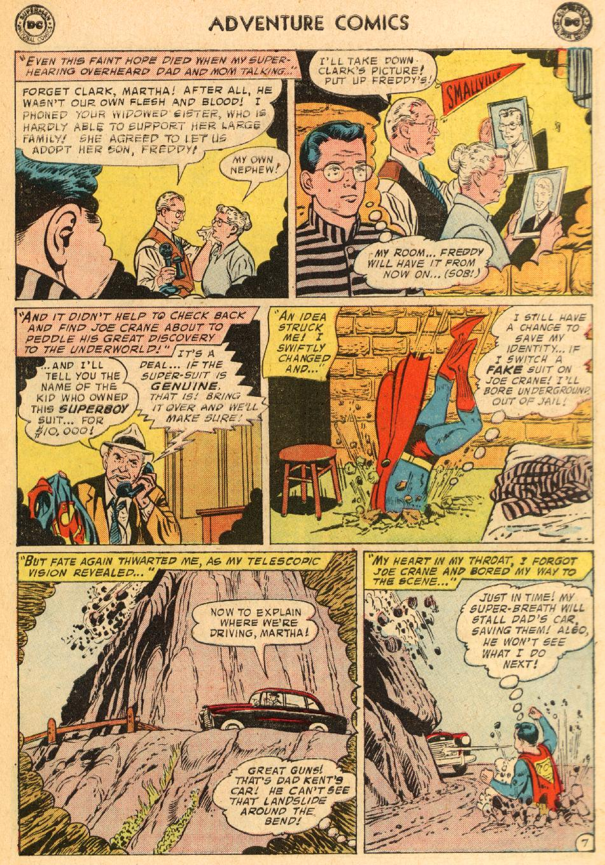 Read online Adventure Comics (1938) comic -  Issue #249 - 9