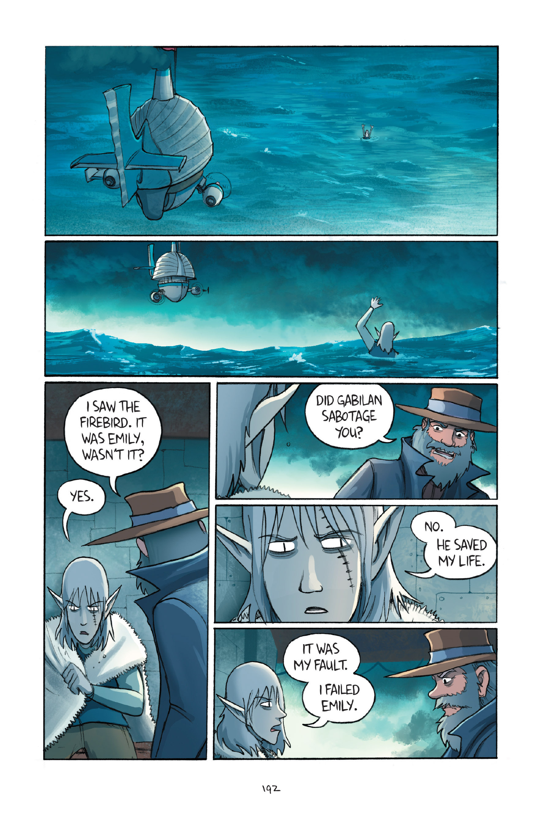 Read online Amulet comic -  Issue #7 - 190