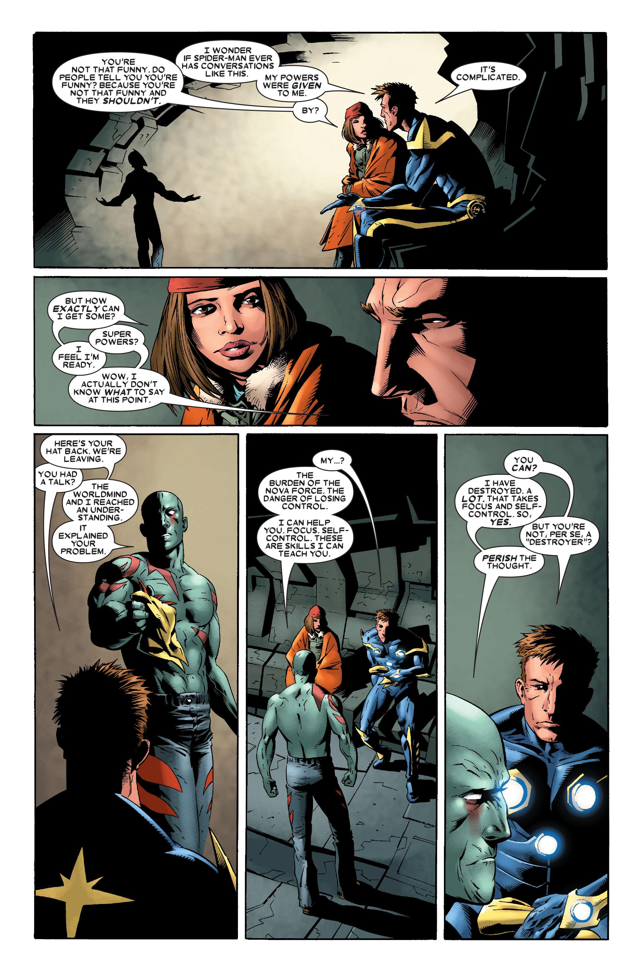 Read online Annihilation: Nova comic -  Issue #2 - 15