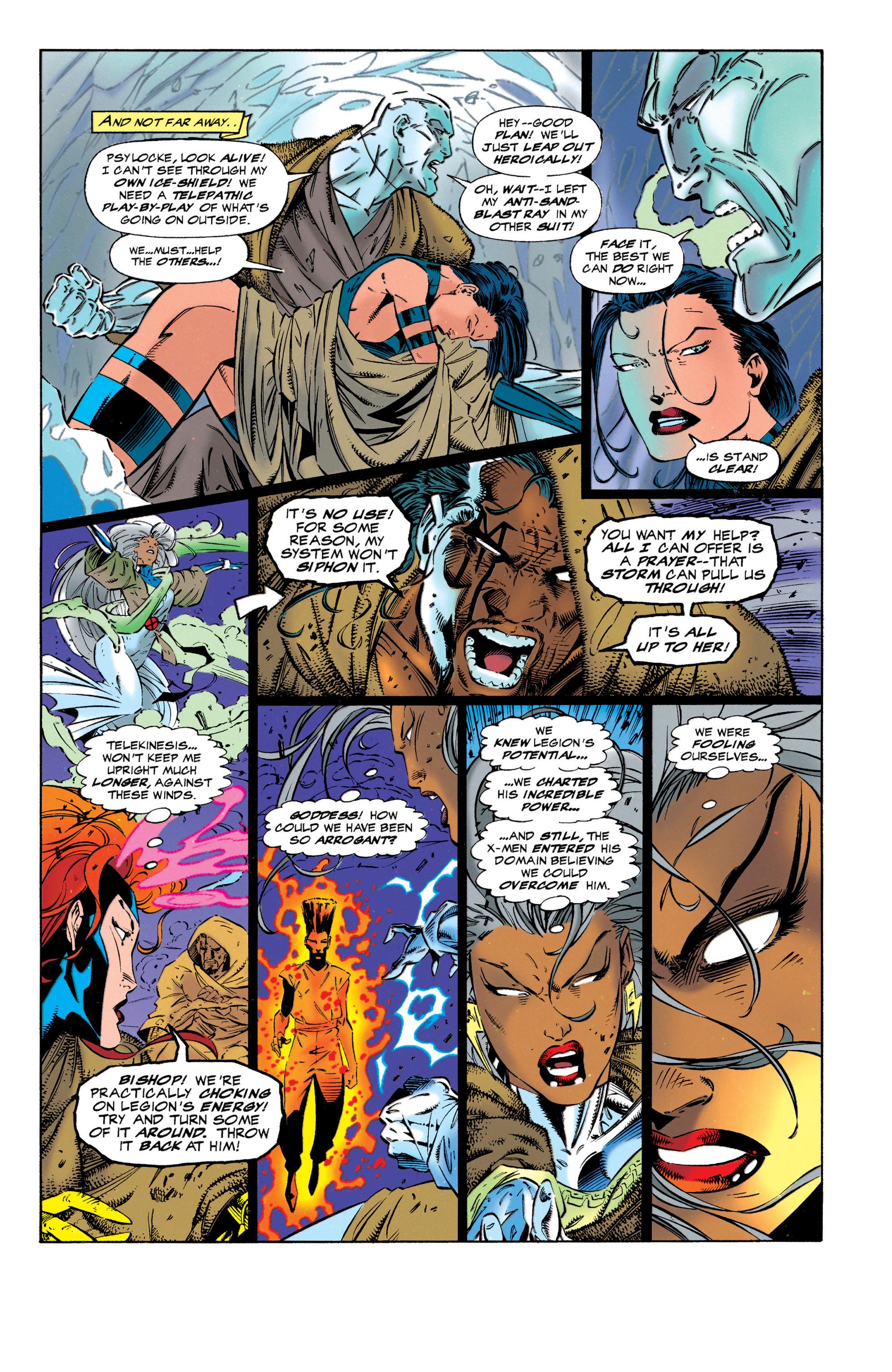 Read online Uncanny X-Men (1963) comic -  Issue #320 - 4