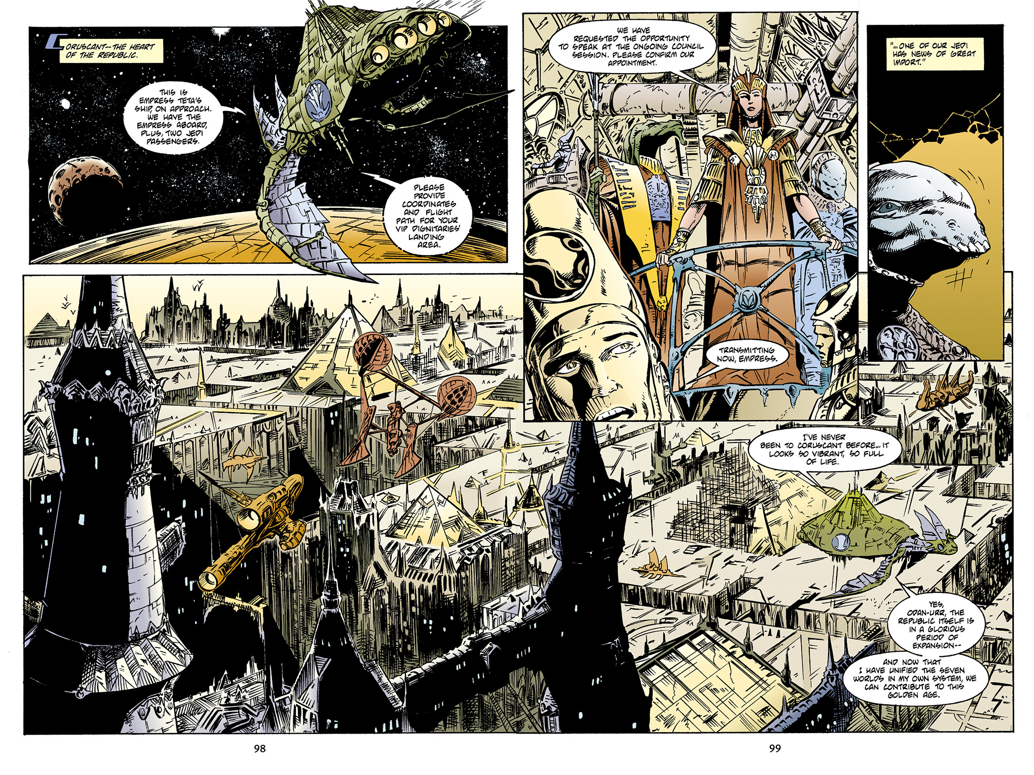 Read online Star Wars Omnibus comic -  Issue # Vol. 4 - 95