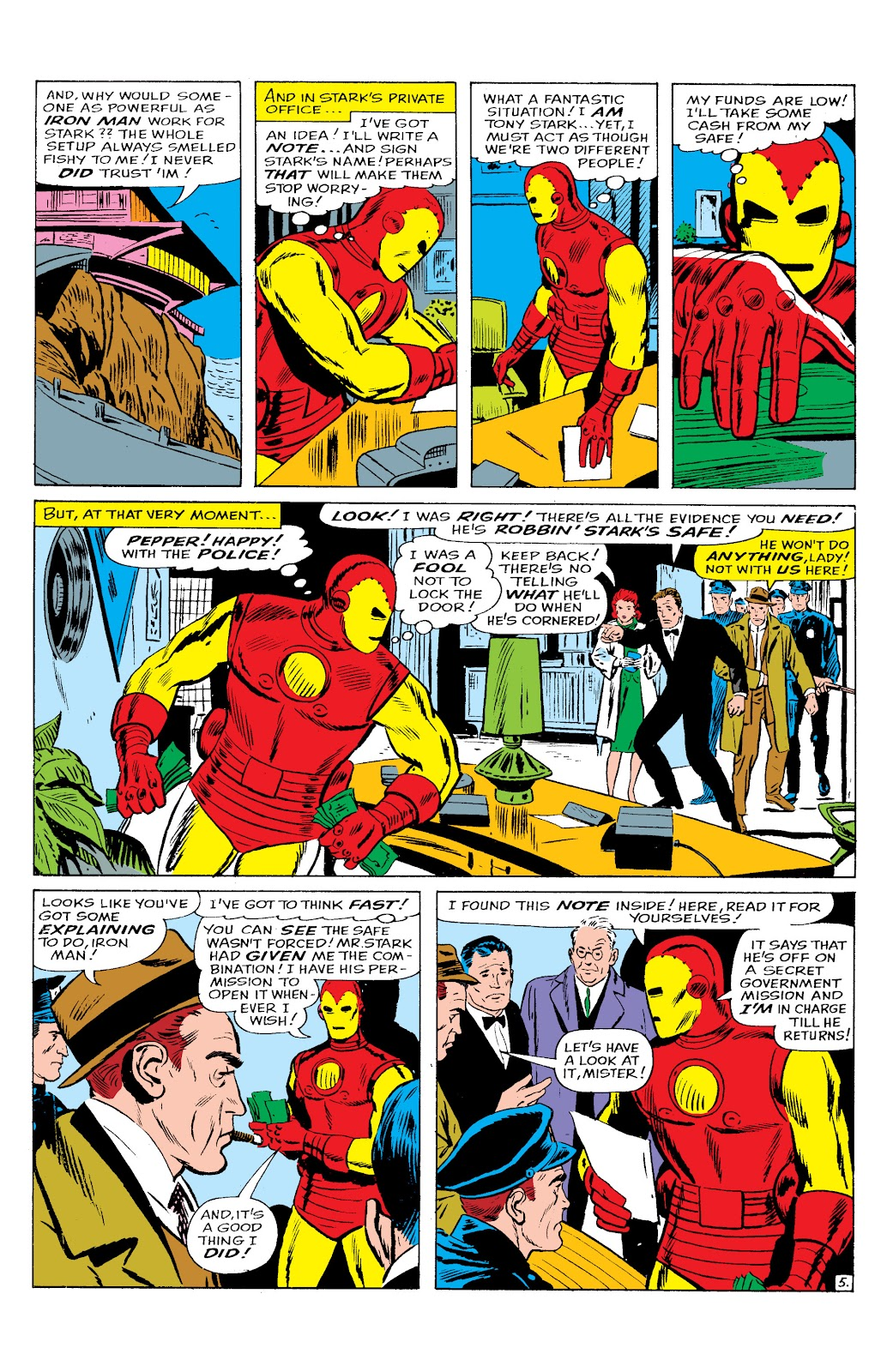 Read online Marvel Masterworks: The Invincible Iron Man comic -  Issue # TPB 2 (Part 2) - 61