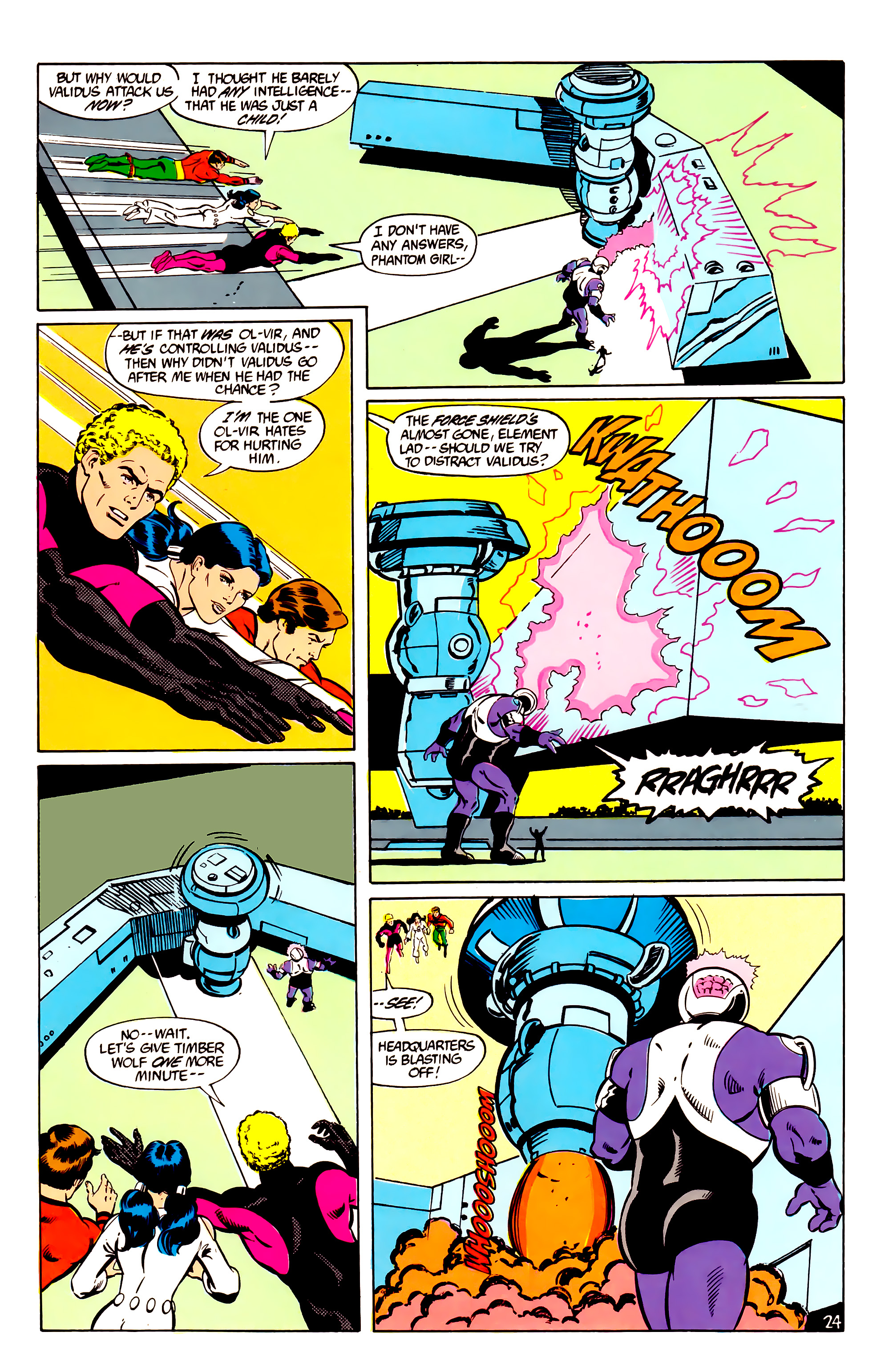 Legion of Super-Heroes (1984) _Annual_2 Page 25