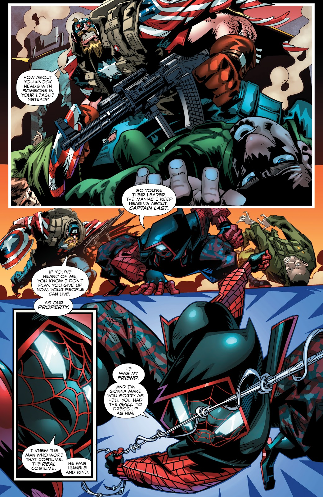 Read online Miles Morales: The End comic -  Issue # Full - 13