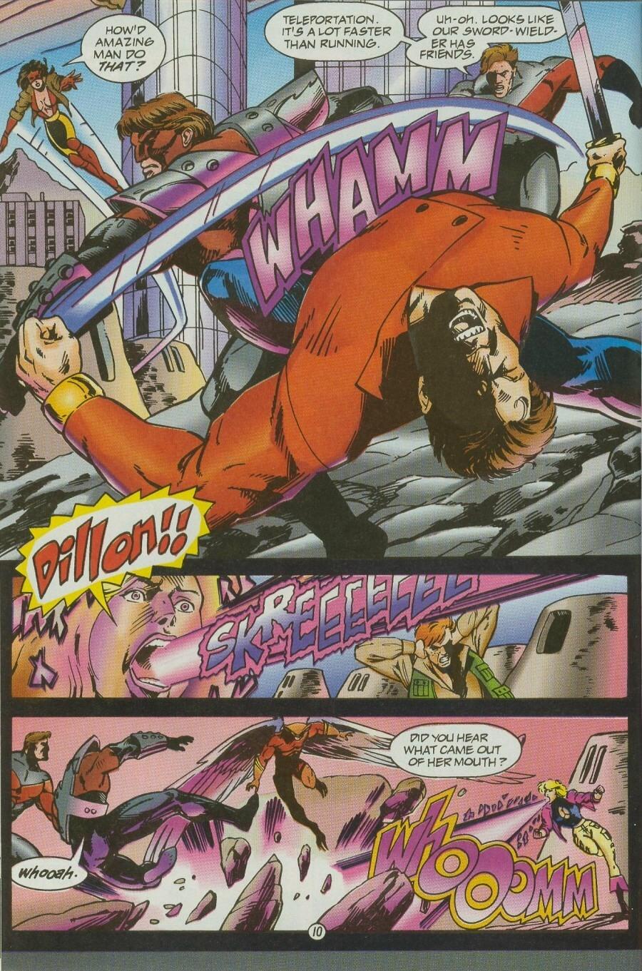 Read online Ex-Mutants comic -  Issue #12 - 13