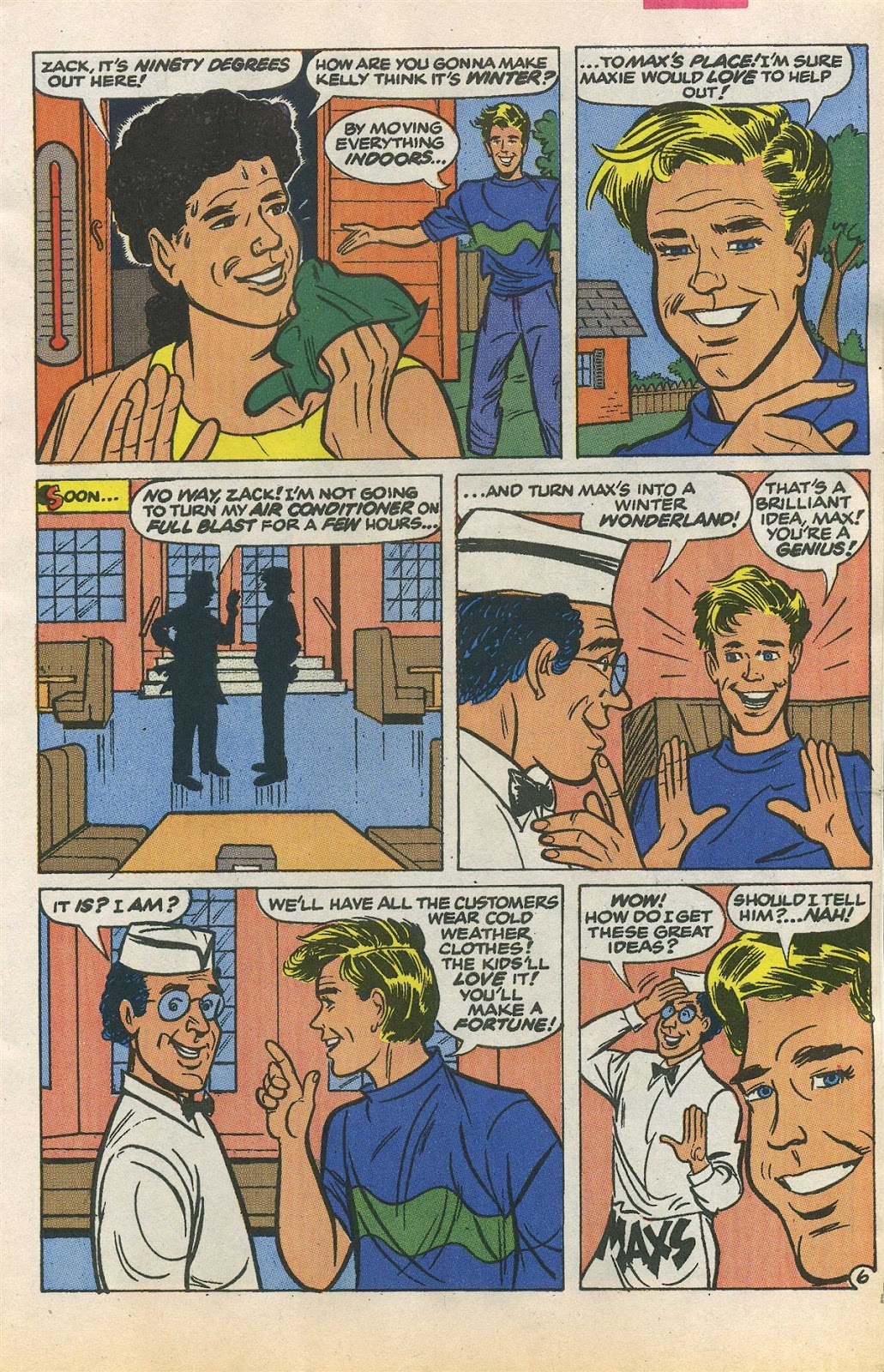 Read online Saved By The Bell comic -  Issue #1 - 9