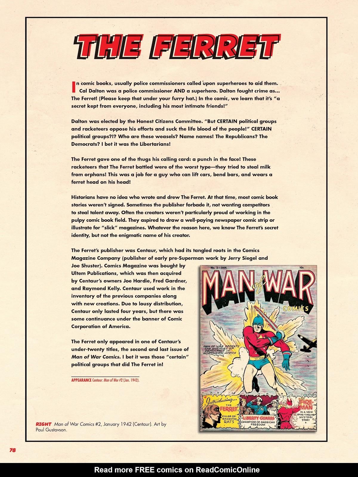 Read online Super Weird Heroes comic -  Issue # TPB 2 (Part 1) - 78