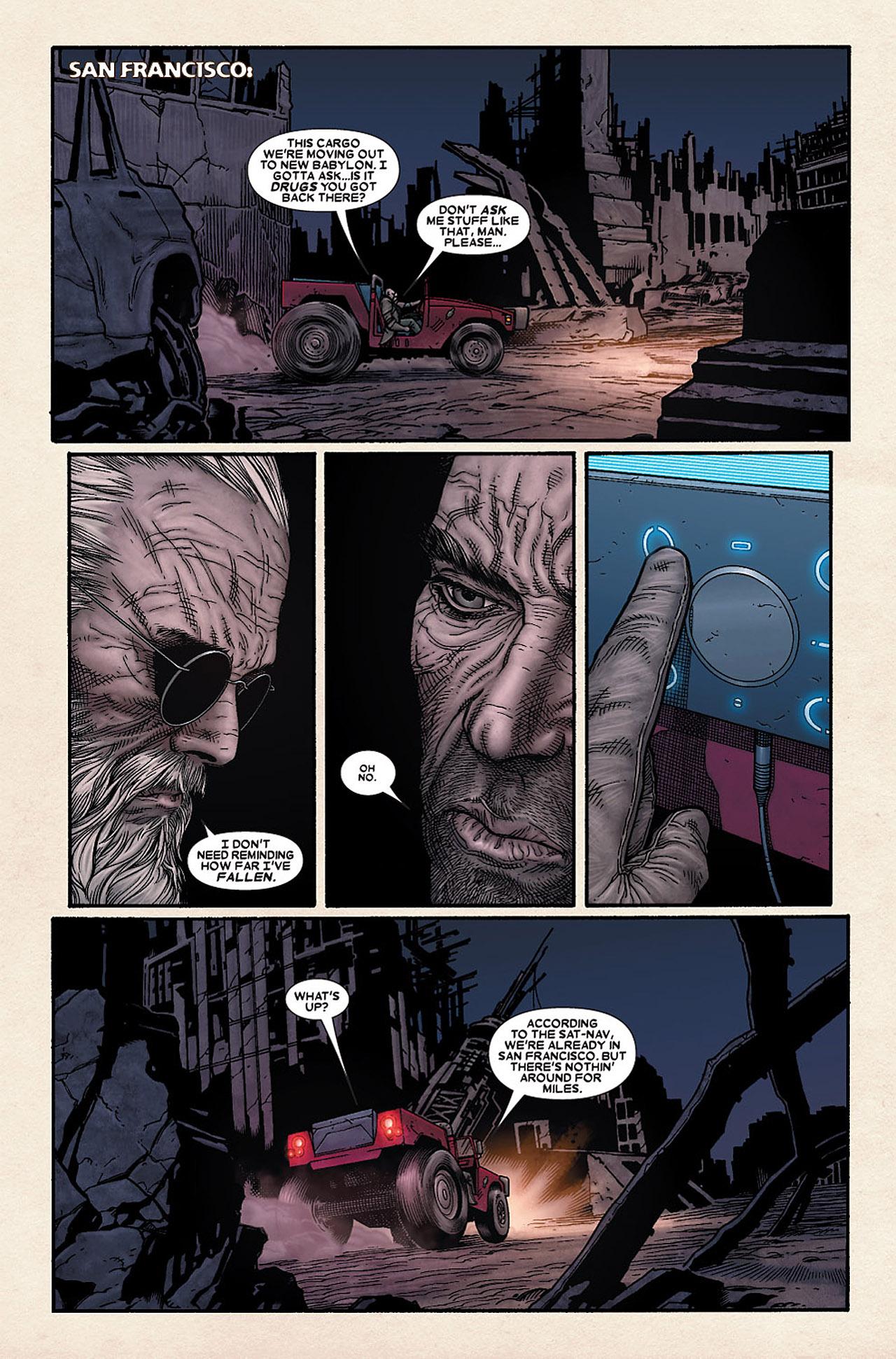 Read online Wolverine: Old Man Logan comic -  Issue # Full - 31