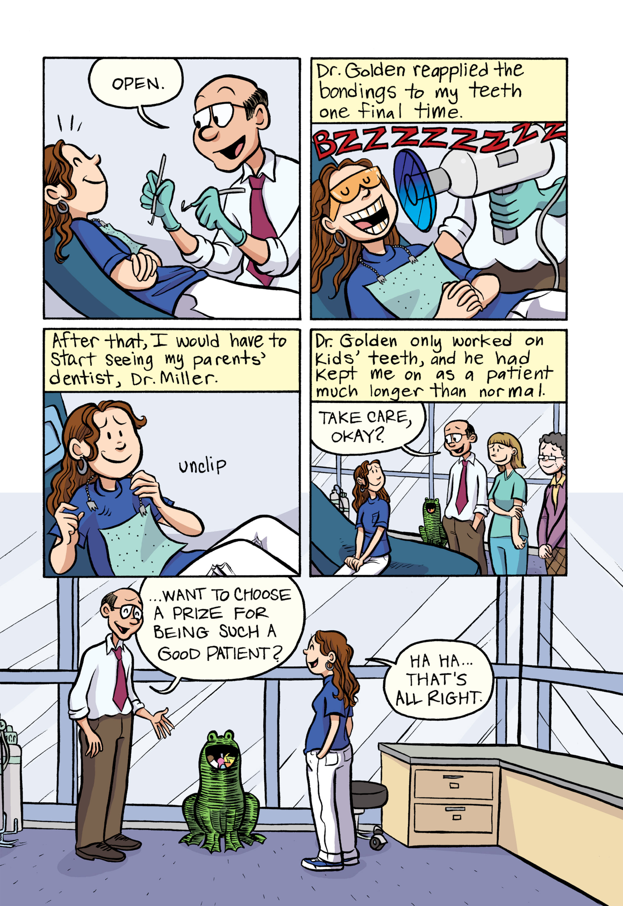 Read online Smile comic -  Issue # TPB - 214
