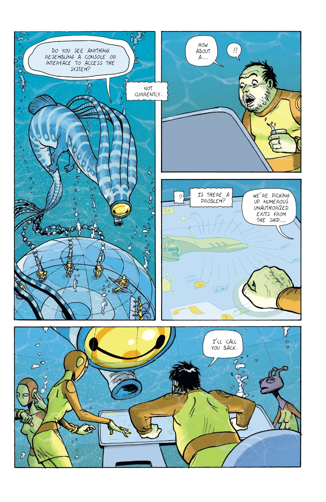 Read online Infinity 8 comic -  Issue #11 - 21