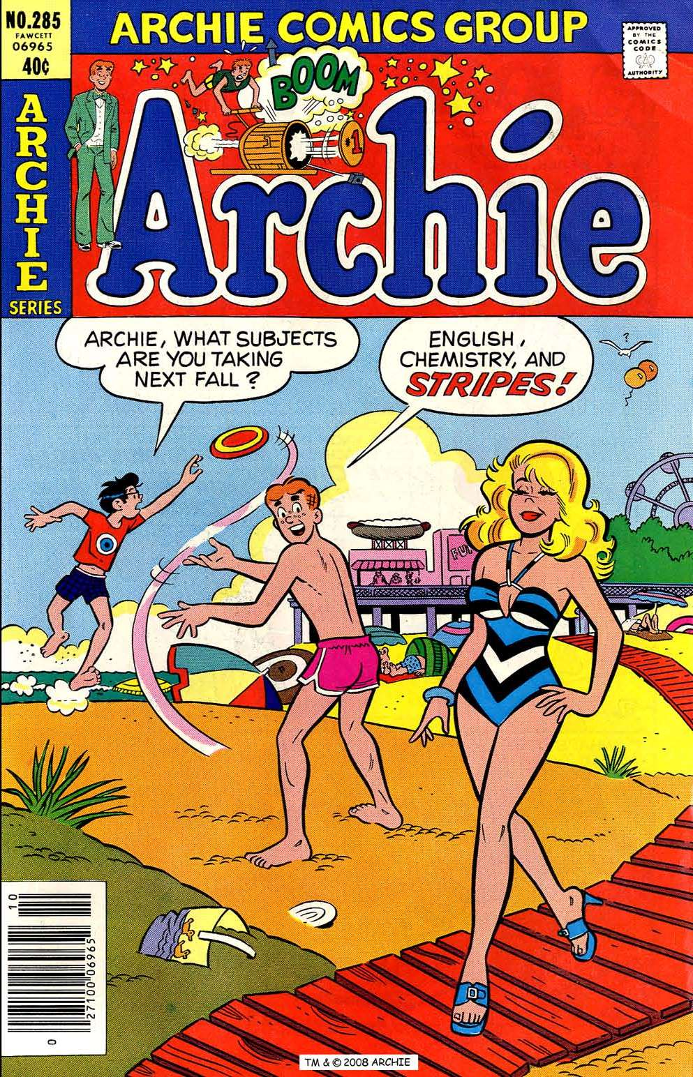 Read online Archie (1960) comic -  Issue #285 - 1