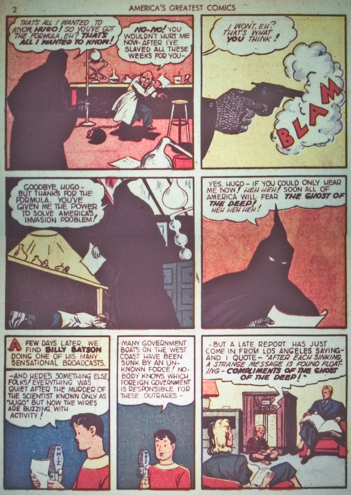 Read online America's Greatest Comics comic -  Issue #1 - 5