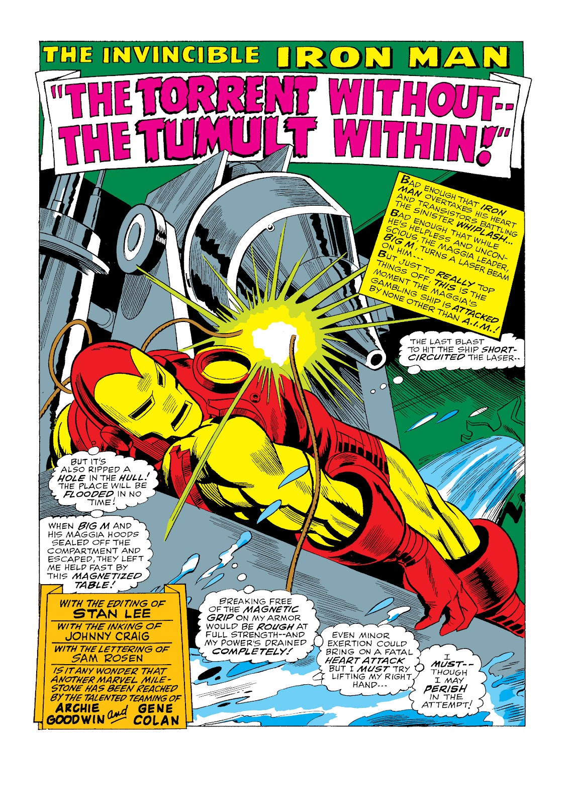 Read online Marvel Masterworks: The Invincible Iron Man comic -  Issue # TPB 4 (Part 3) - 13