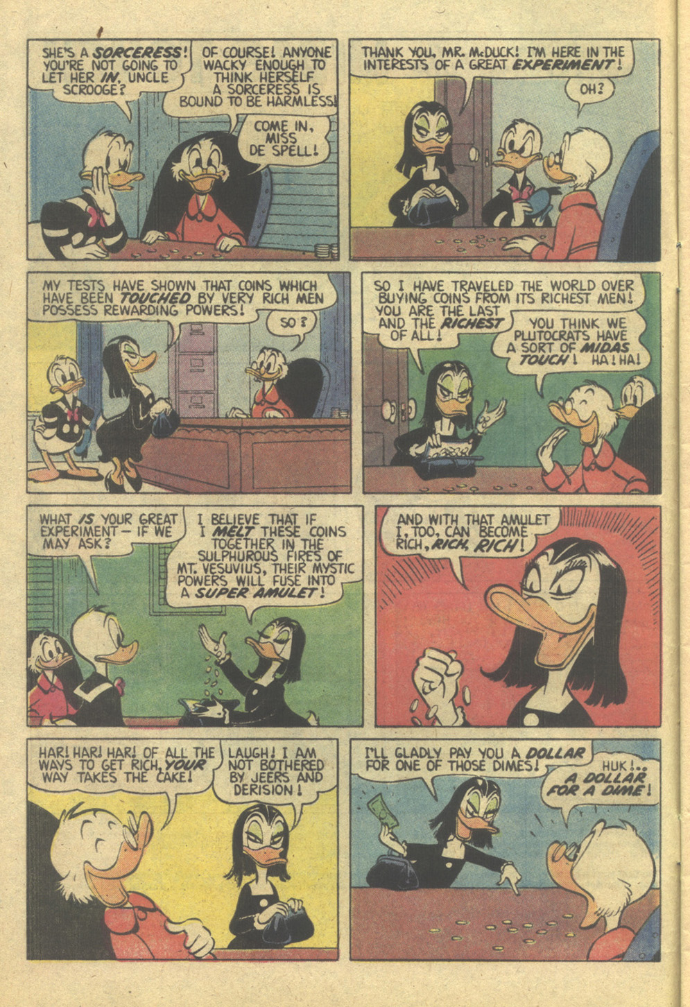 Read online Uncle Scrooge (1953) comic -  Issue #207 - 4