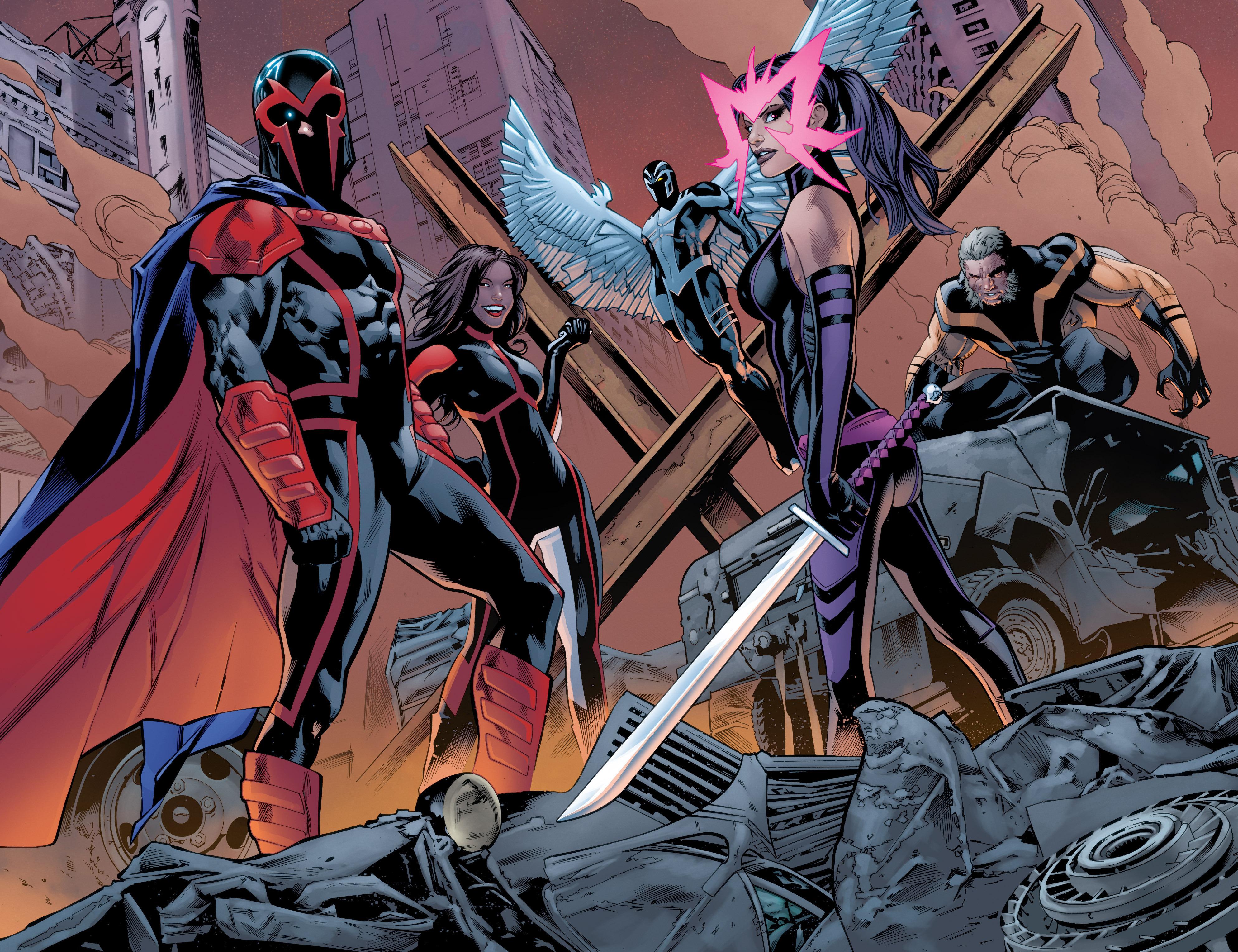 Read online Uncanny X-Men (2016) comic -  Issue #1 - 14