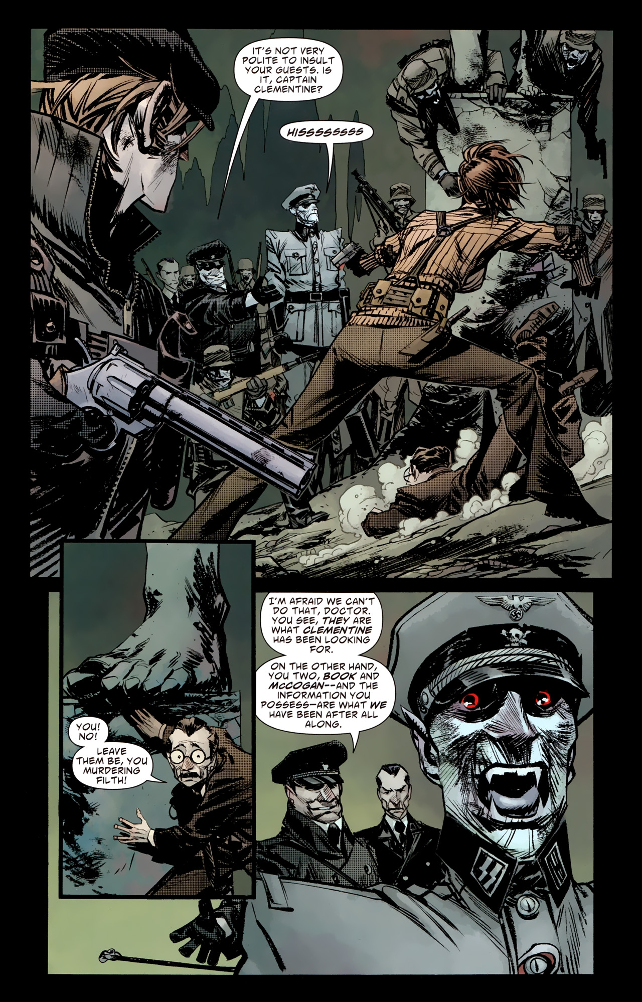 Read online American Vampire: Survival of the Fittest comic -  Issue #4 - 10
