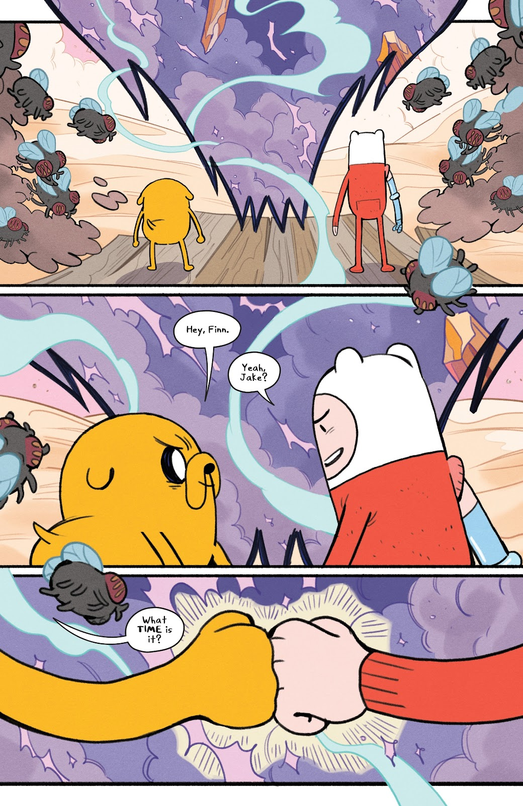 Read online Adventure Time: Beginning of the End comic -  Issue # _TPB - 73
