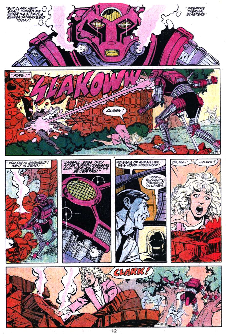 Read online Adventures of Superman (1987) comic -  Issue #456 - 12
