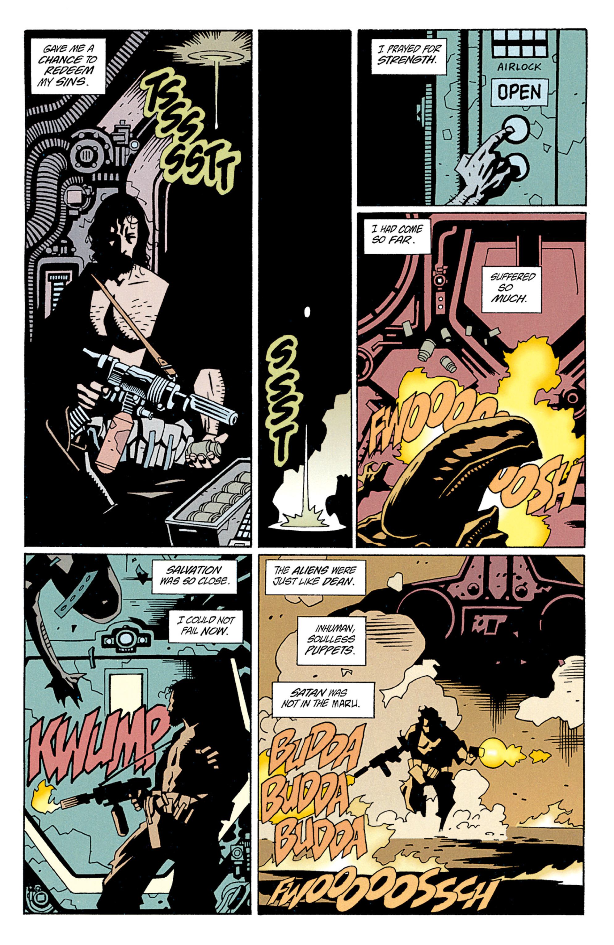 Read online Aliens: Salvation comic -  Issue # TPB - 48