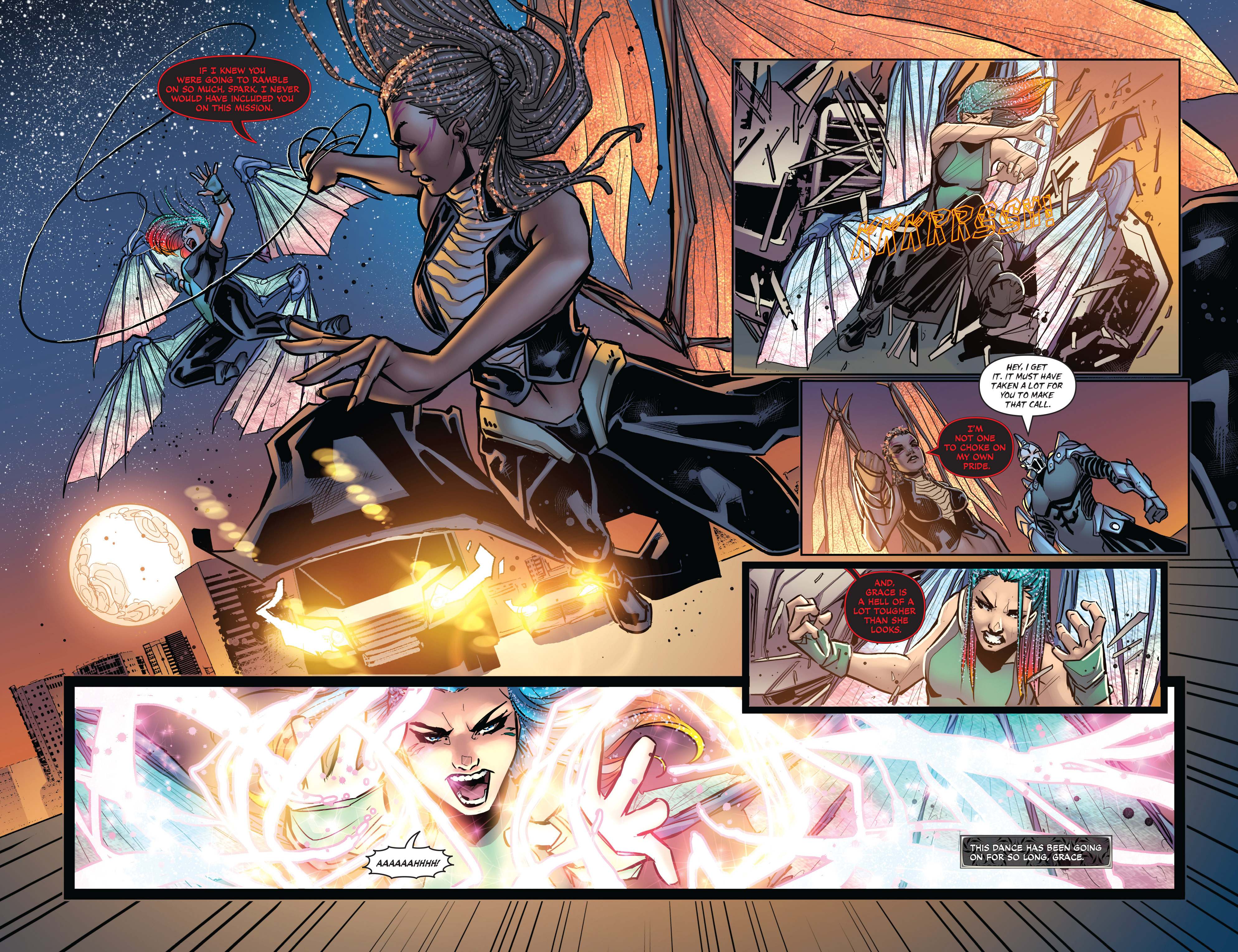 Read online All-New Soulfire Vol. 6 comic -  Issue #3 - 13