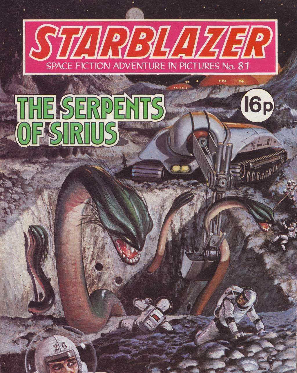 Starblazer issue 81 - Page 1