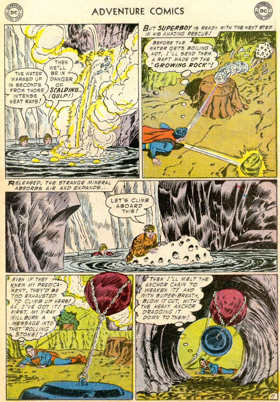 Read online Adventure Comics (1938) comic -  Issue #215 - 13