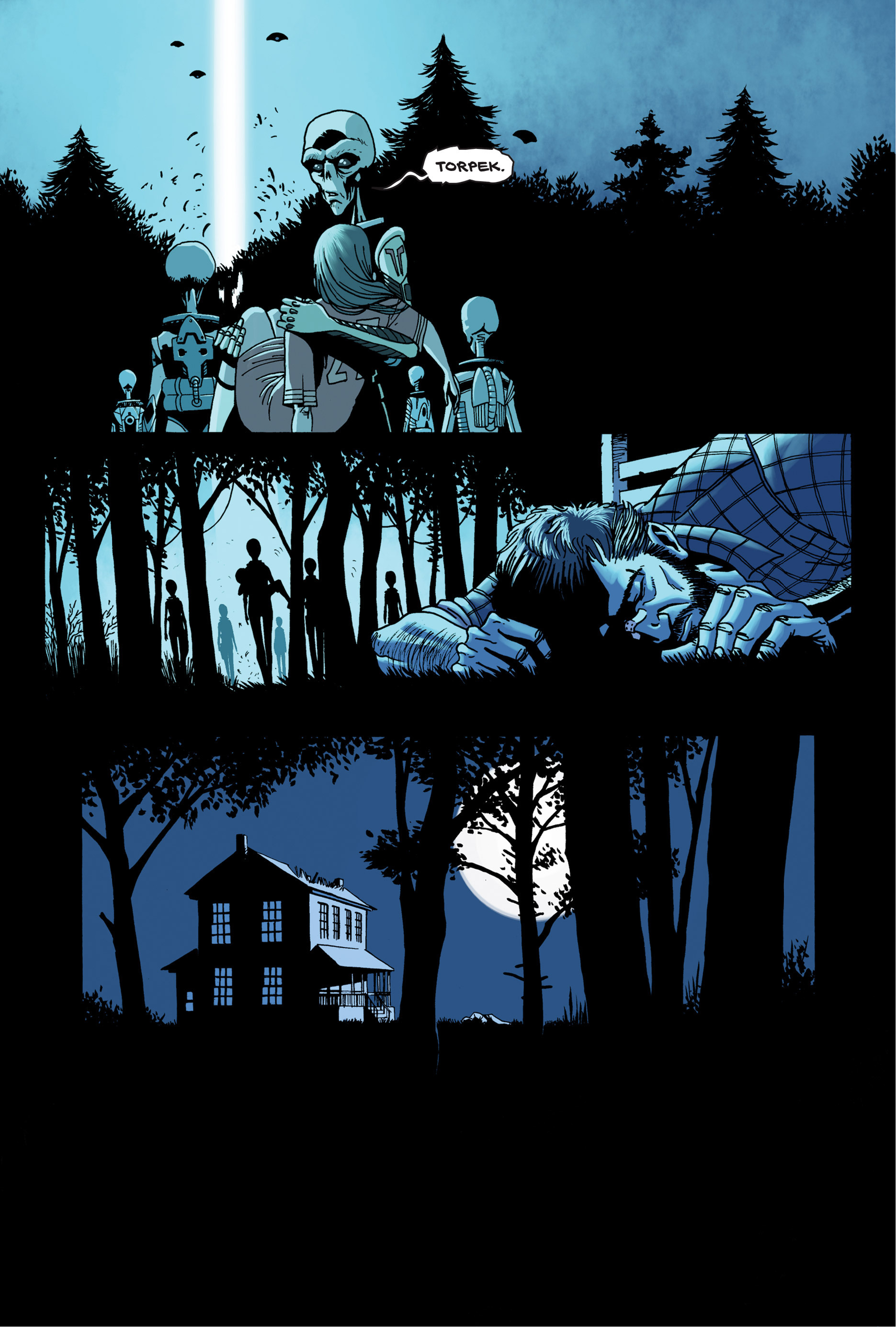 Read online Trespasser comic -  Issue #4 - 15