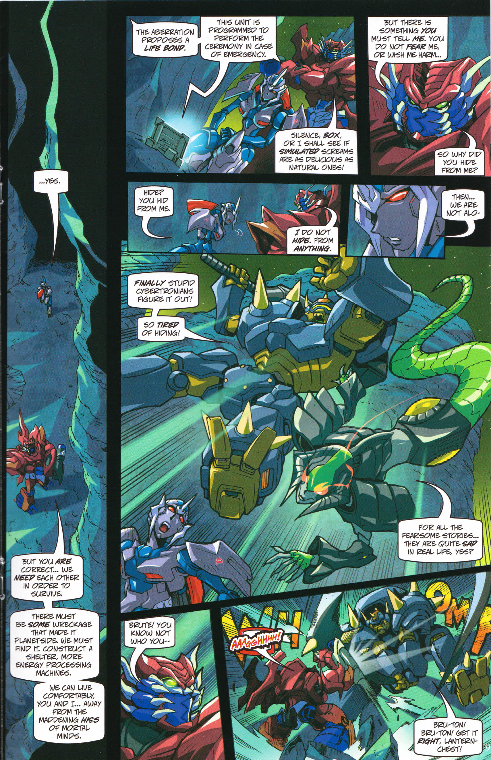 Read online Transformers: Collectors' Club comic -  Issue #58 - 9