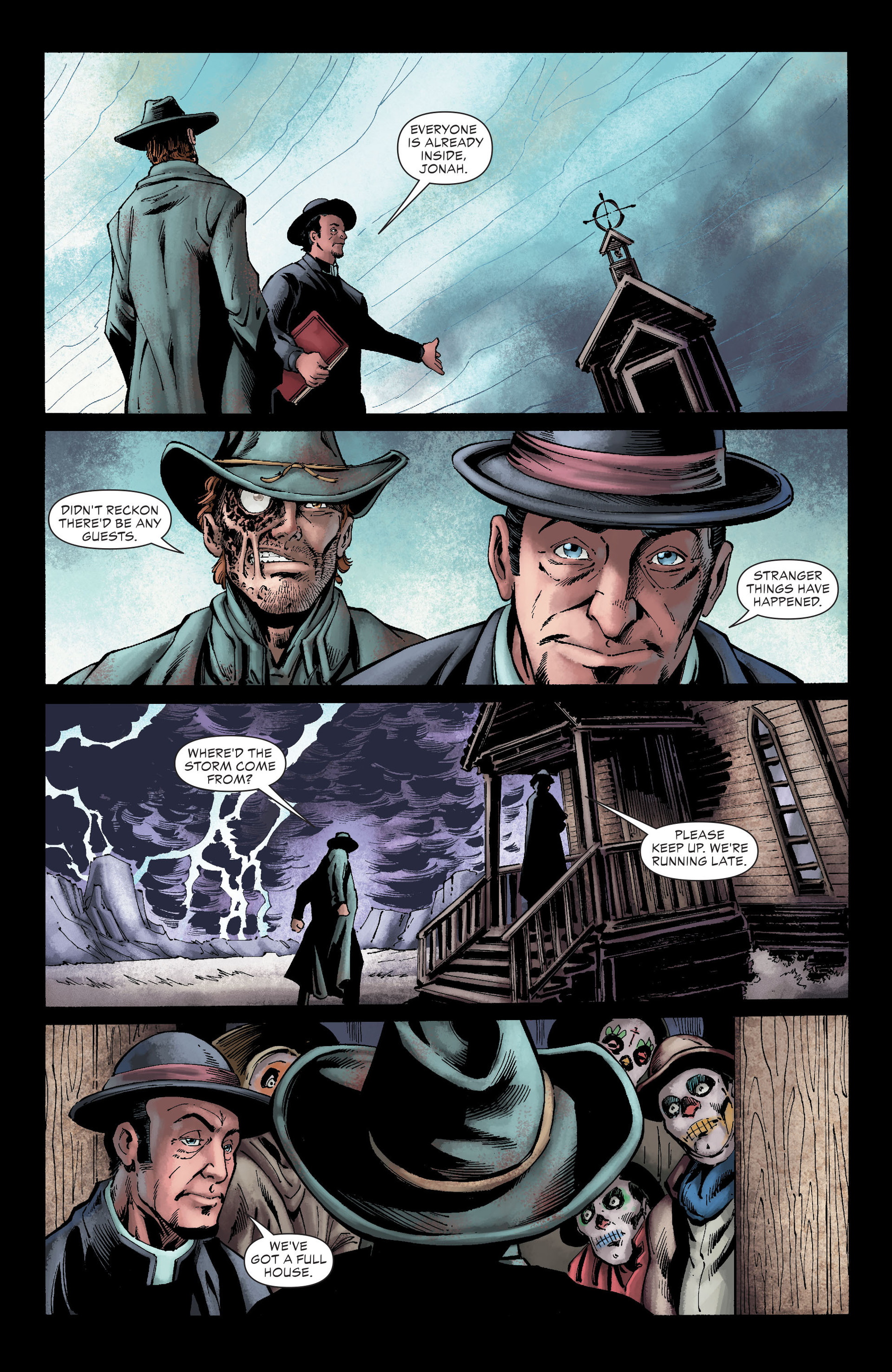 Read online All-Star Western (2011) comic -  Issue #26 - 9