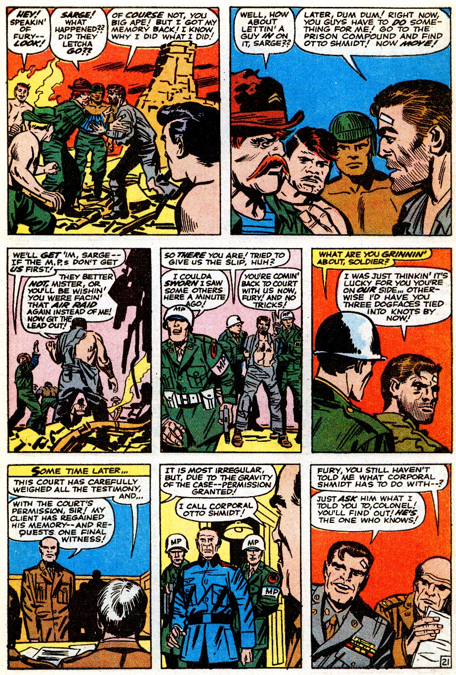 Read online Sgt. Fury comic -  Issue # _Special 5 - 64