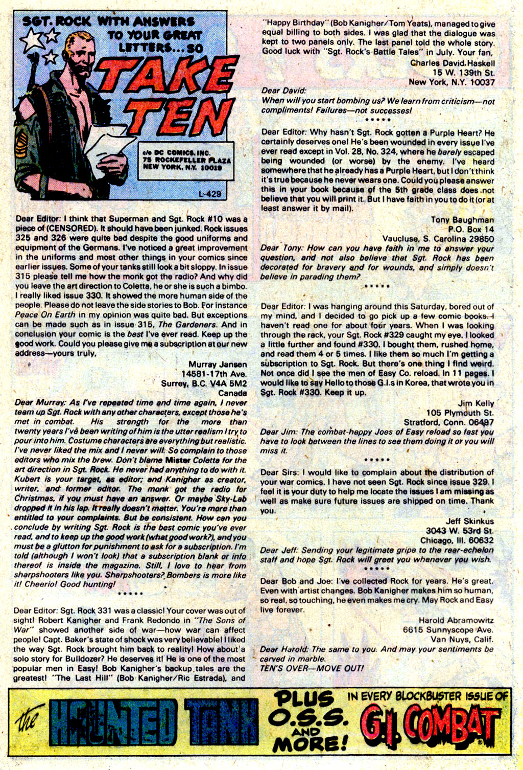 Read online Sgt. Rock comic -  Issue #337 - 13
