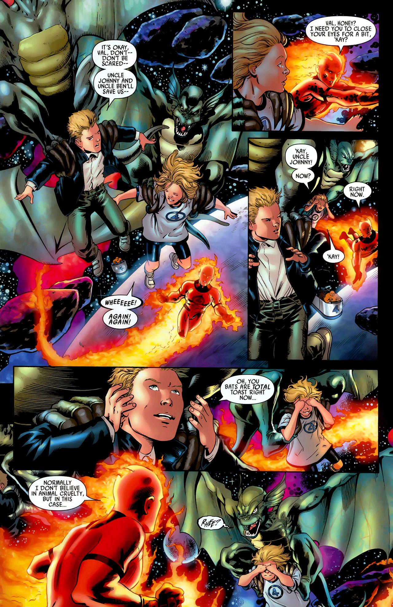 Read online Secret Invasion: Fantastic Four comic -  Issue #3 - 7