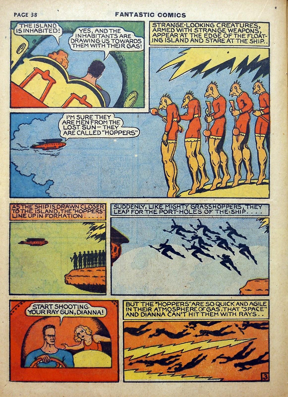 Read online Fantastic Comics comic -  Issue #5 - 39