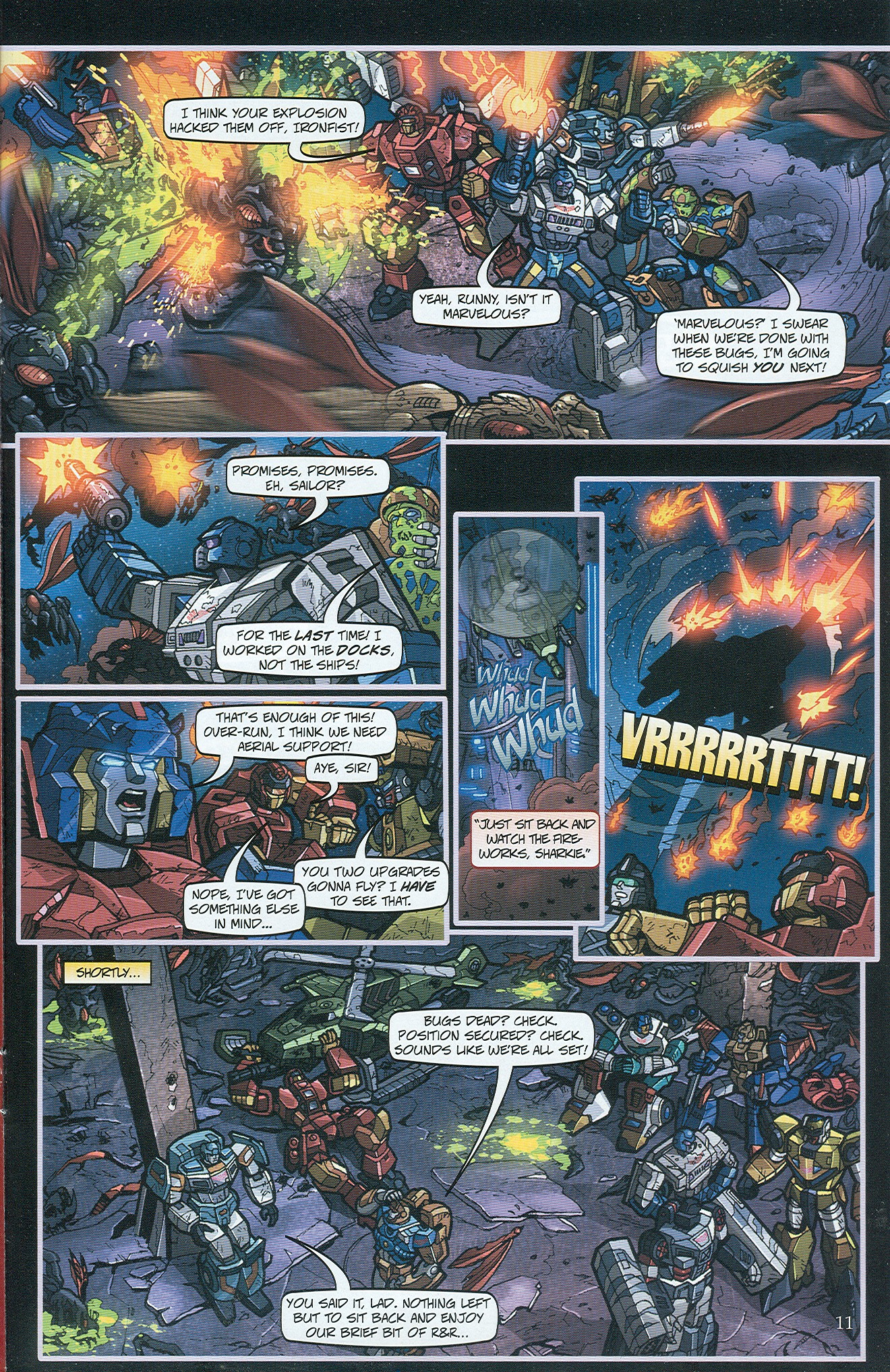 Read online Transformers: Collectors' Club comic -  Issue #32 - 11