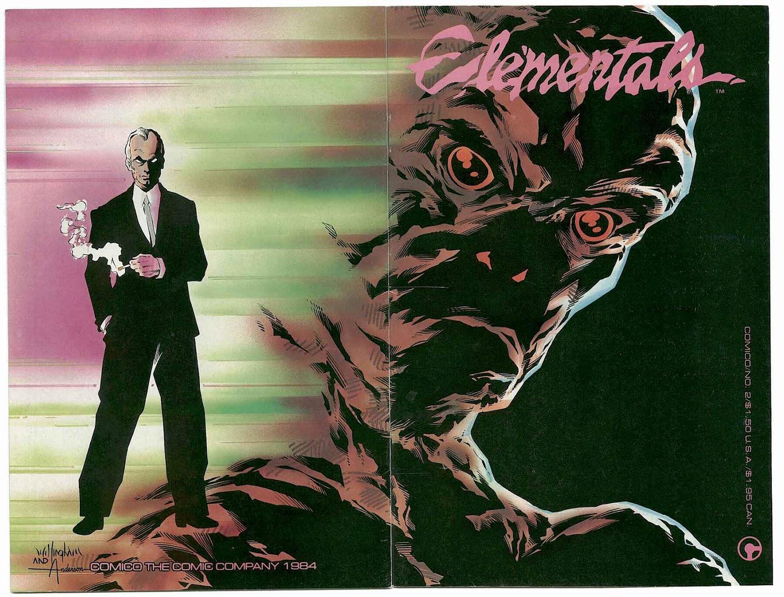 Elementals (1984) issue 2 - Page 1