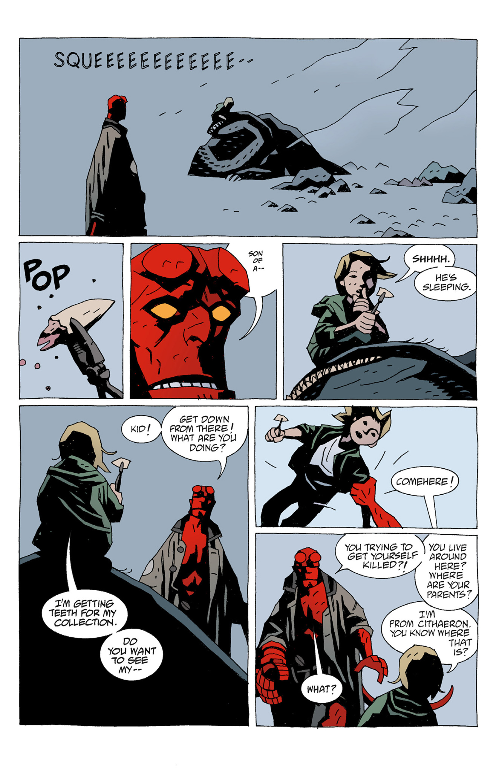 Read online Hellboy: The Troll Witch and Others comic -  Issue # TPB - 19