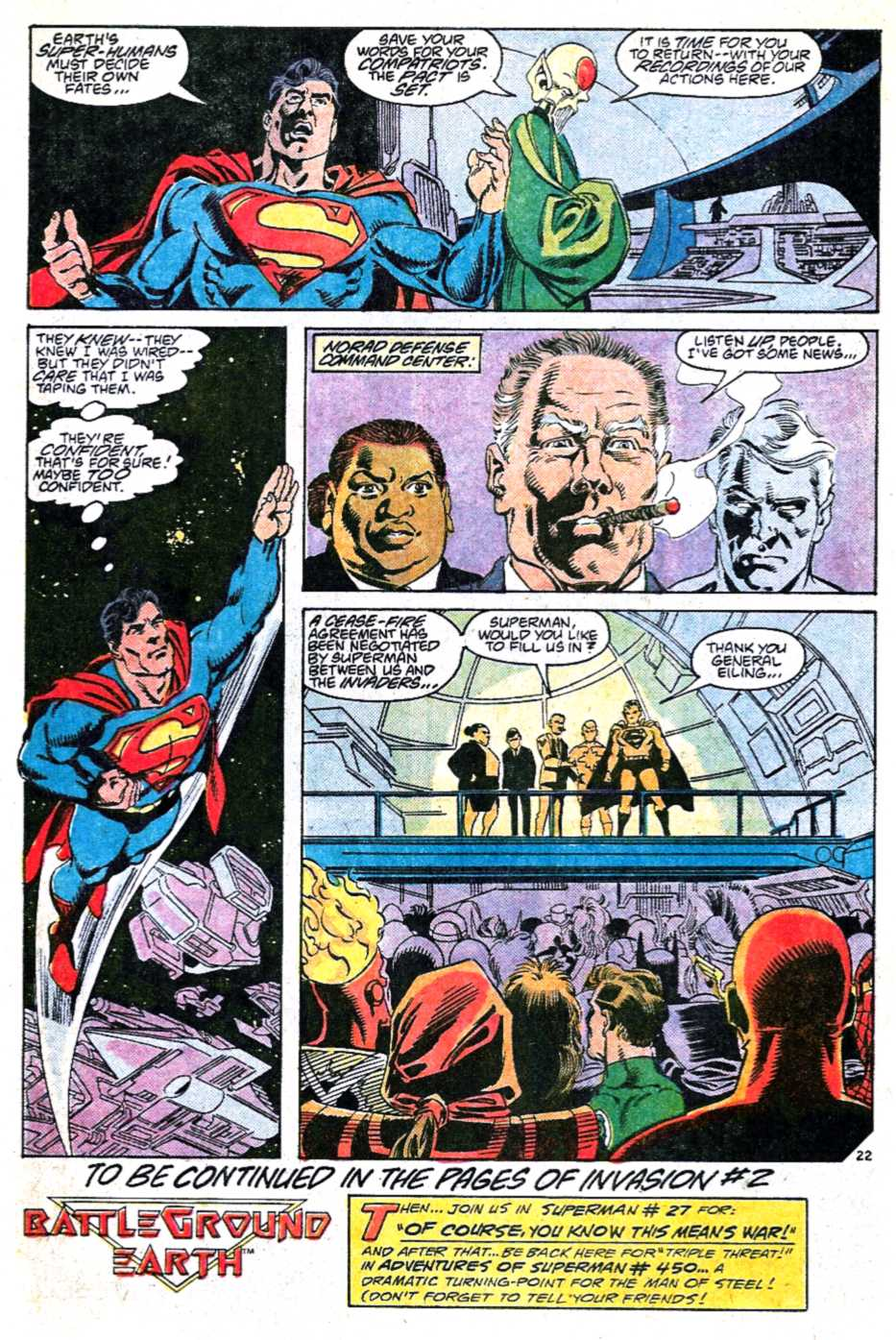 Read online Adventures of Superman (1987) comic -  Issue #449 - 22