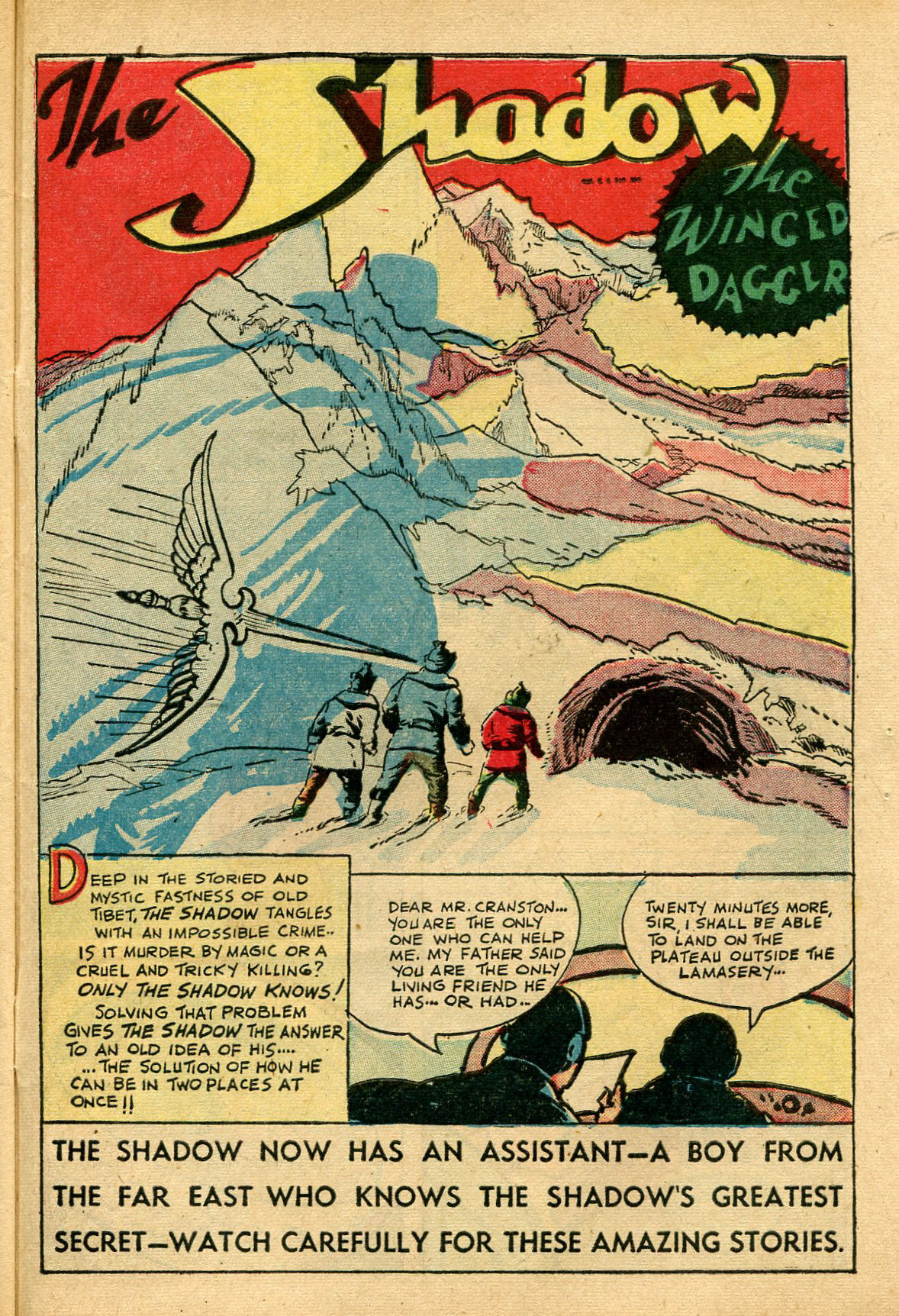Read online Shadow Comics comic -  Issue #69 - 41