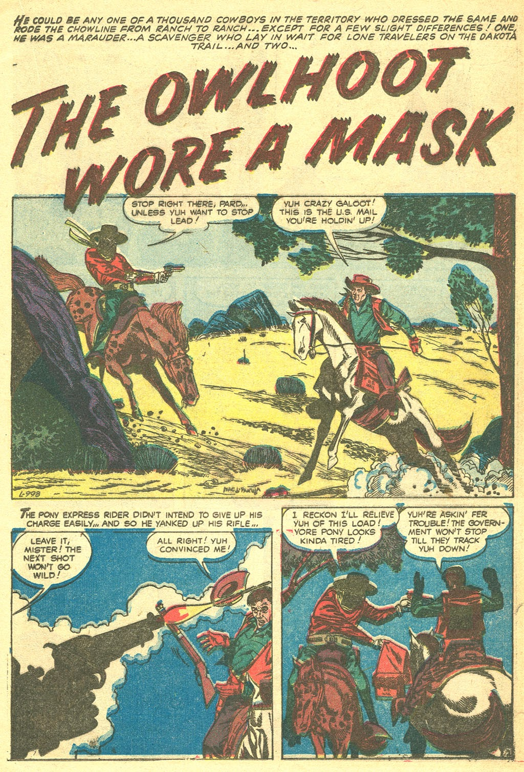 Gunsmoke Western issue 41 - Page 21