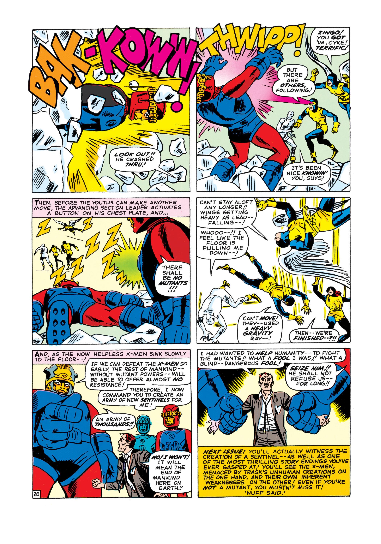 Read online Uncanny X-Men (1963) comic -  Issue #15 - 21